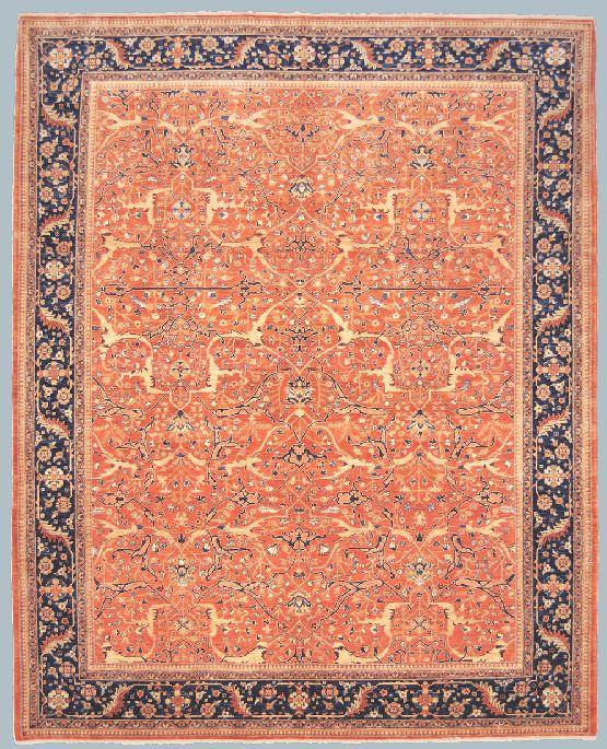 Peshawar cm 248 x 307 morandi tappeti - Tappeti classici ...