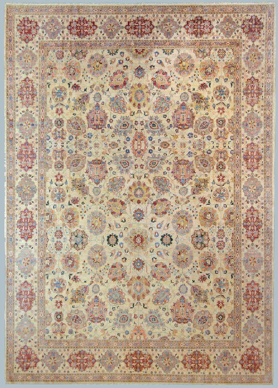 Peshawar cm 274 x 383 morandi tappeti - Tappeti classici ...