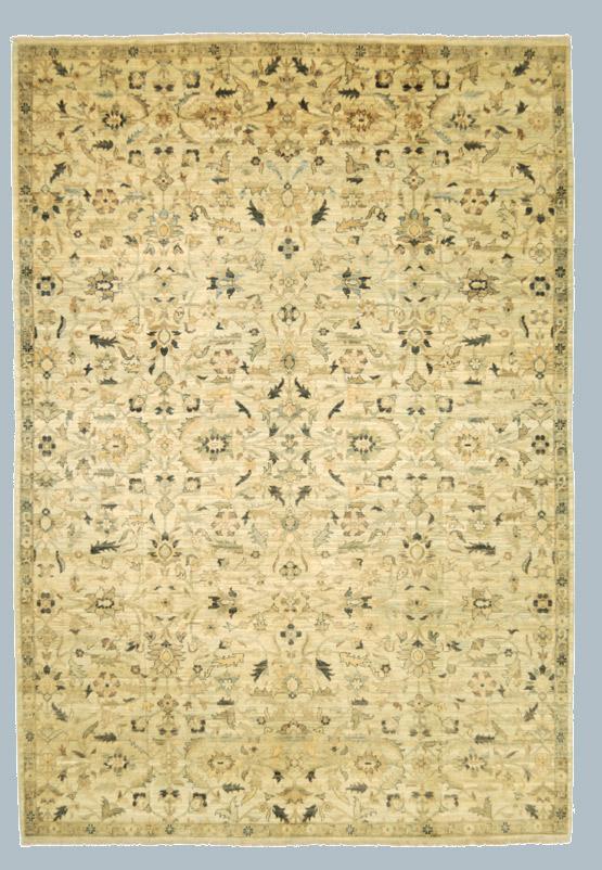 Peshawar tappeto cm 186 x 270 morandi tappeti - Tappeti classici ...
