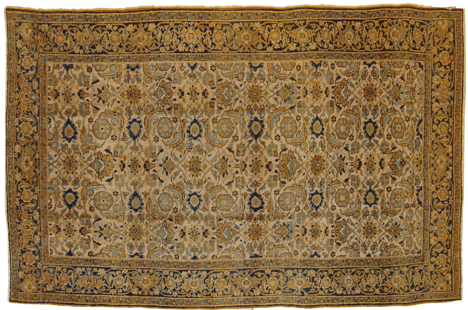 Un heriz fondo chiaro morandi tappeti - Tappeti persiani antichi ...