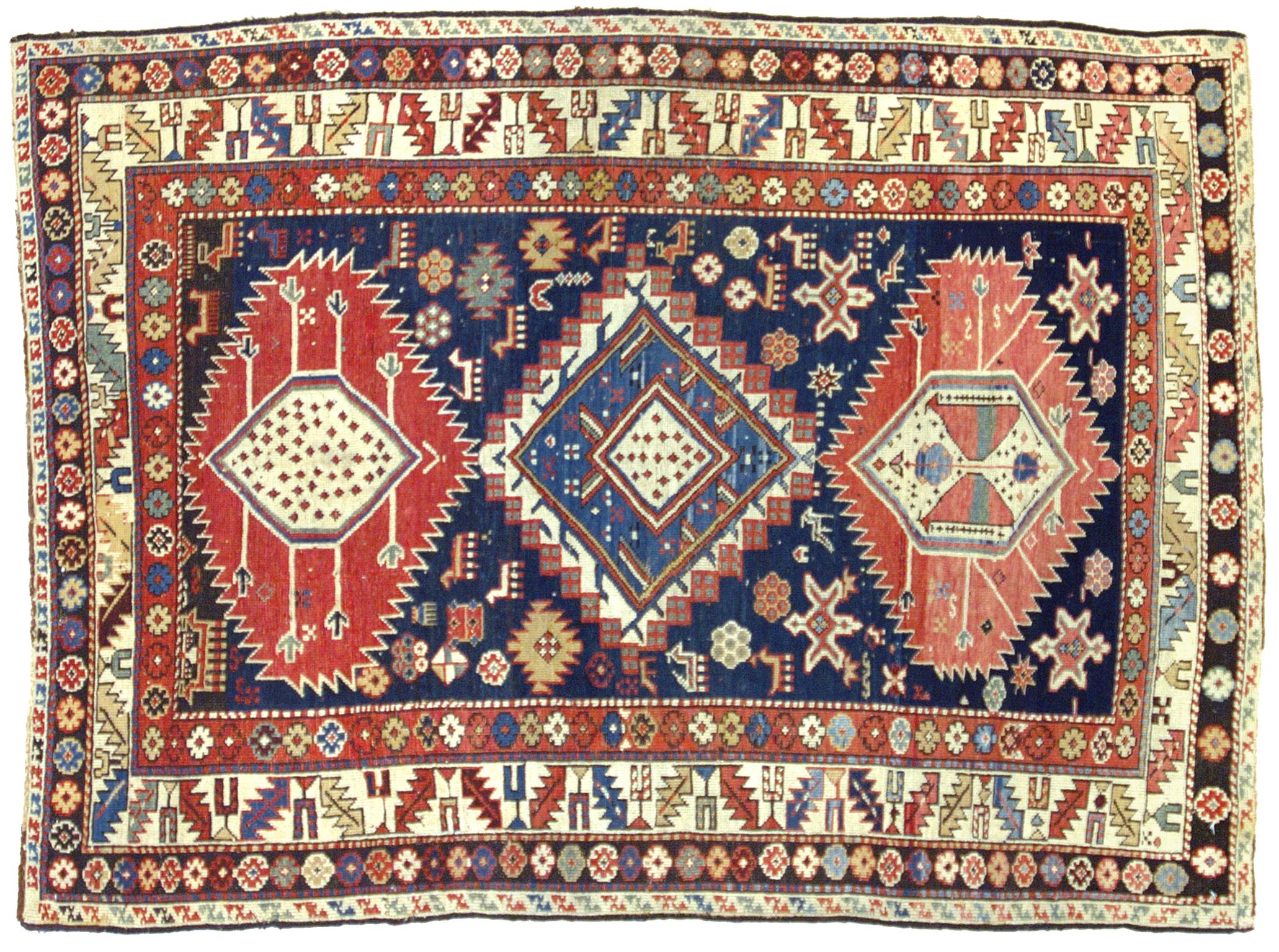 Shirvan caucasico antico in perfetto stato di - Tappeti immagini ...