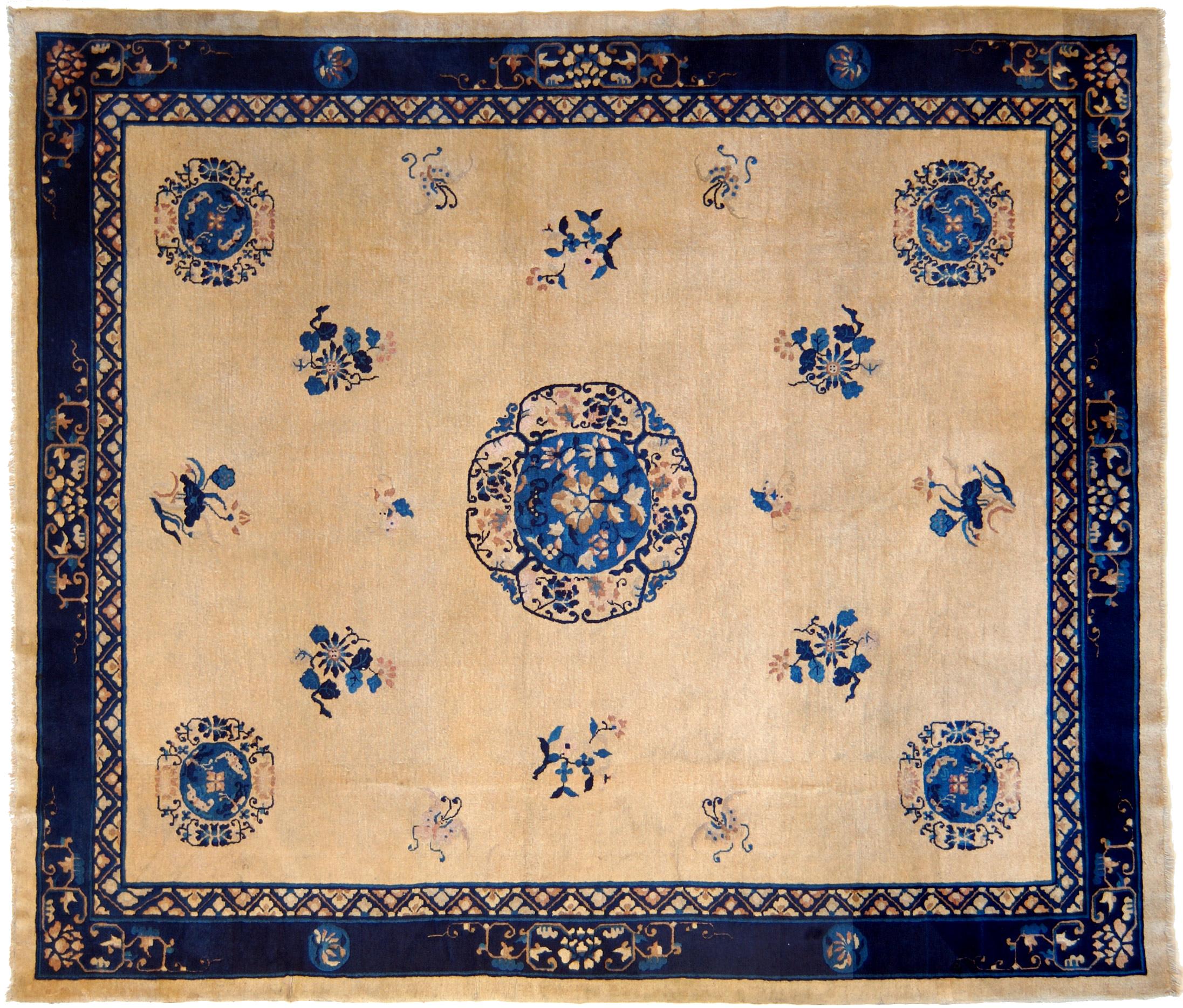 Tappeto Pechino antico grande perfettamente conservato|moranditappeti