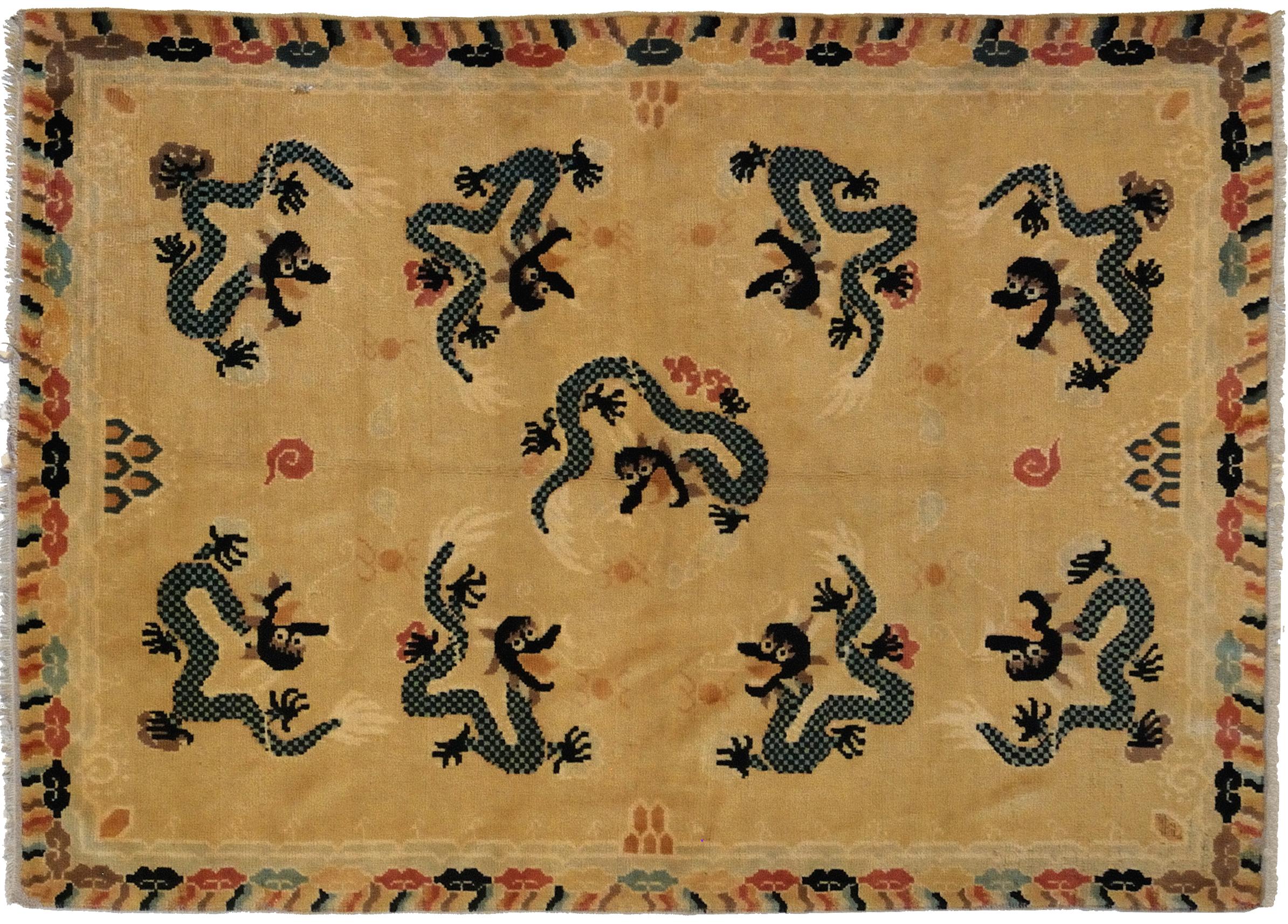 Tappeti Cinesi Antichi ~ Idee per il design della casa