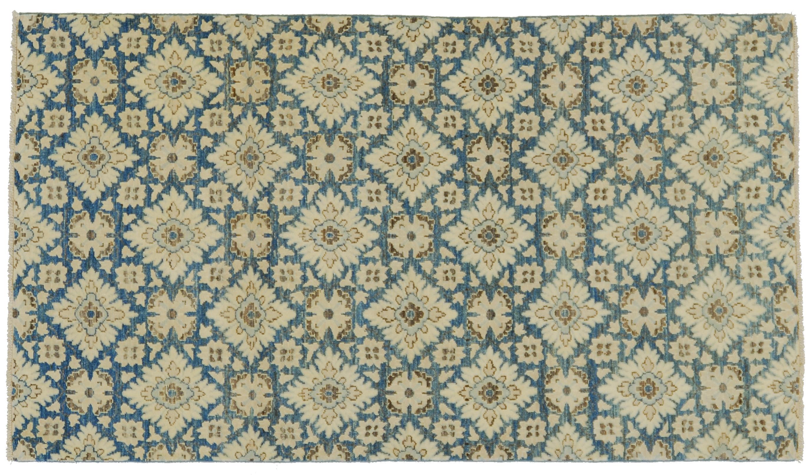 Tappeto peshawar dal rigoroso disegno modulare morandi - Tappeti classici ...