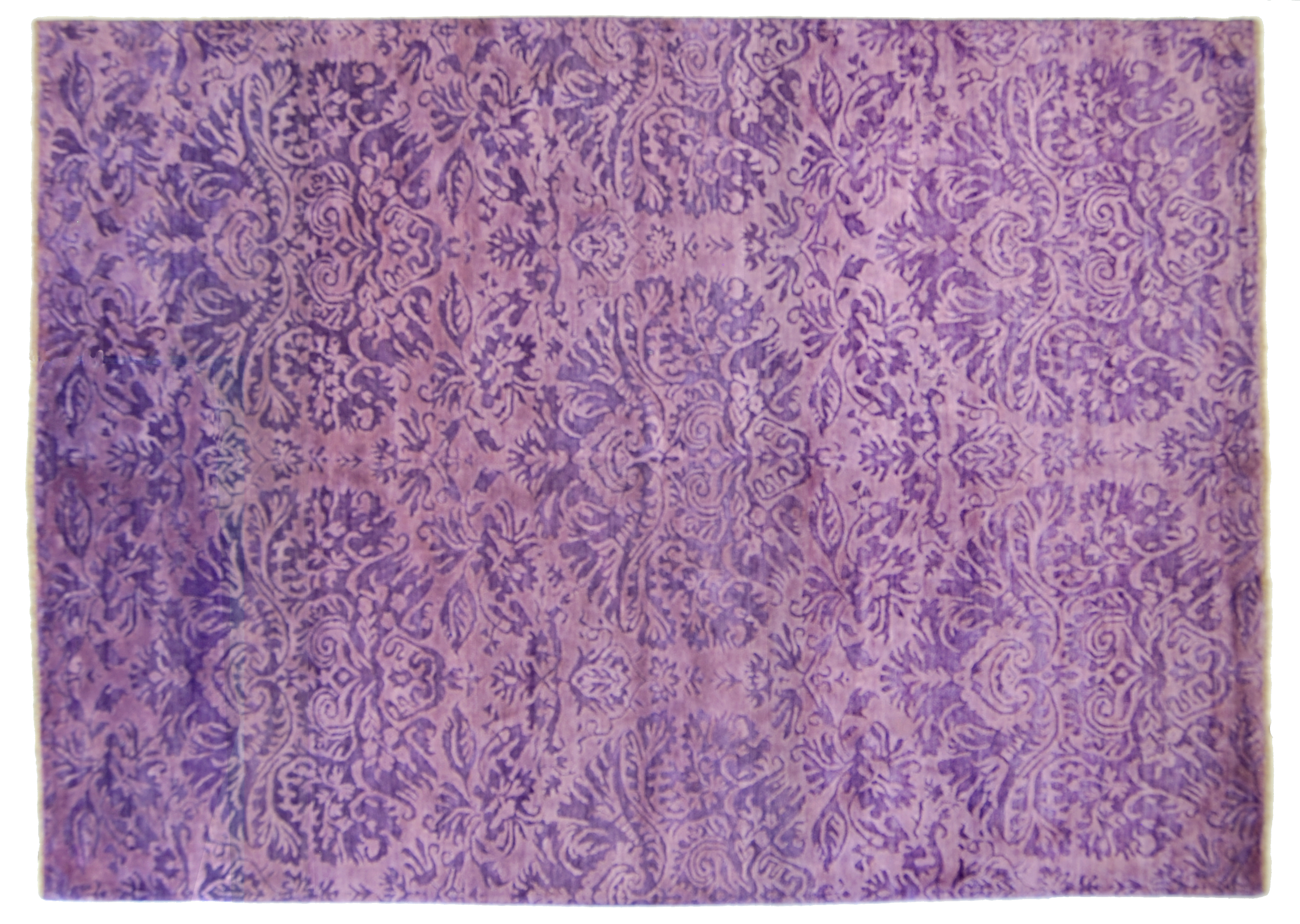 Tappeto Cameretta Lilla : Tappeto moderno bhadohi color lilla misura da salotto morandi