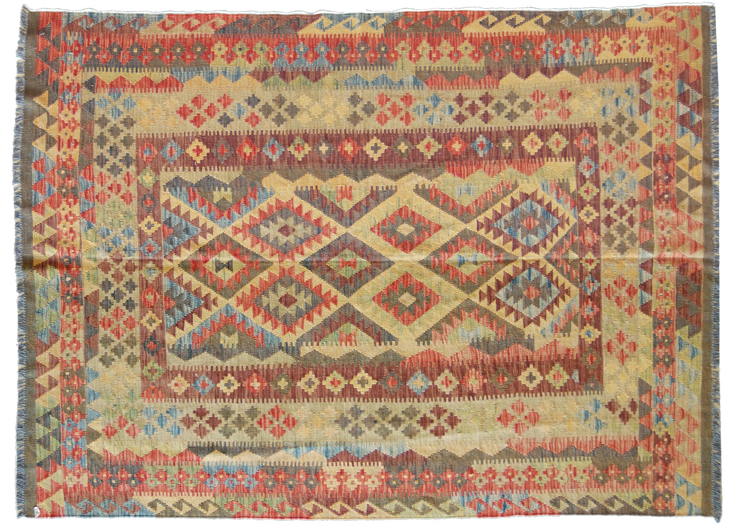 Tappeti Kilim Afgani : Kilim afgano nuovo di grande dimensione quasi quadrata morandi tappeti
