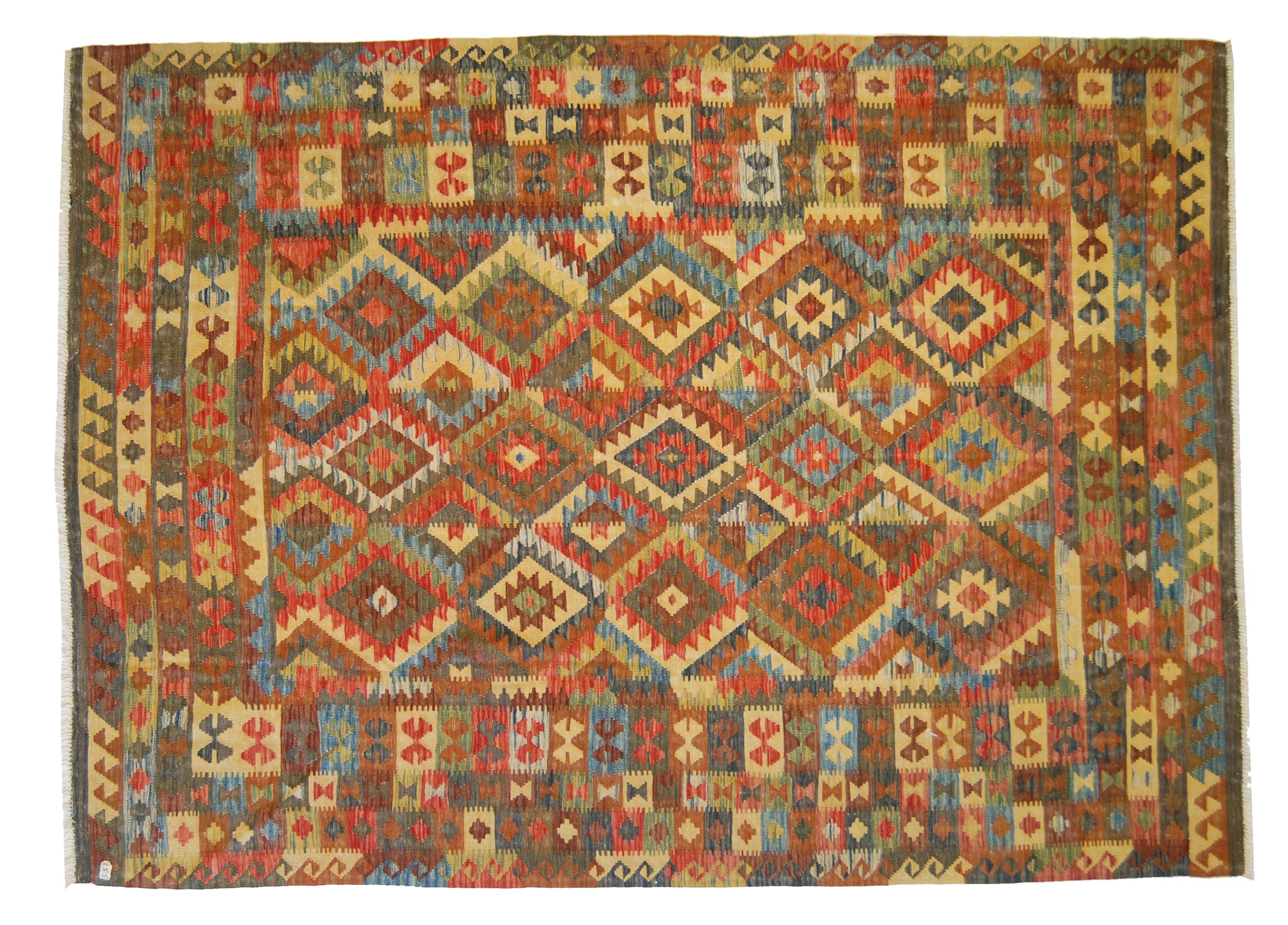 Tappeti Kilim Afgani : Nuovo tocco cromatico dei kilim afgani morandi tappeti