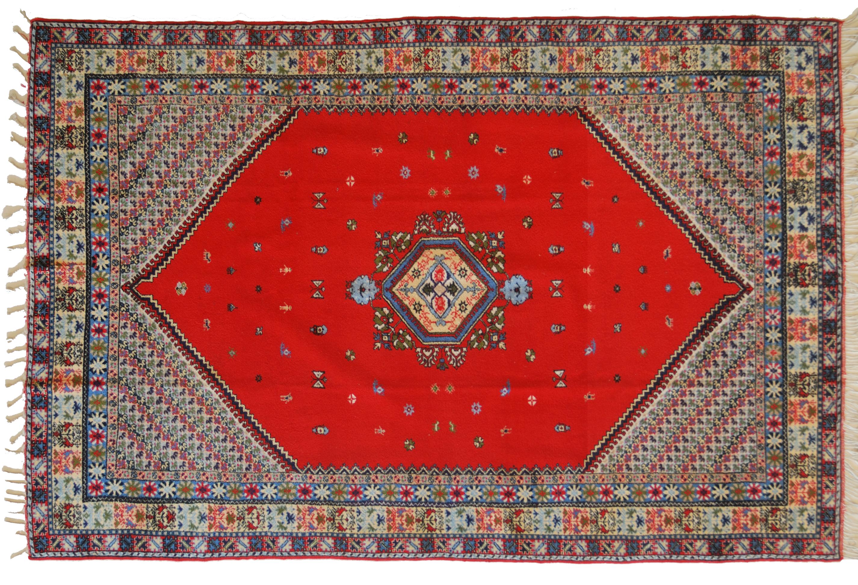 Tappeti Kilim Marocco : Tappeto marocco rosso. morandi tappeti