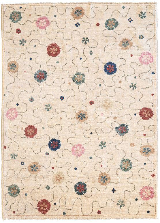 Tappeto hyderabad romantico e moderno morandi tappeti for Tappeti classici