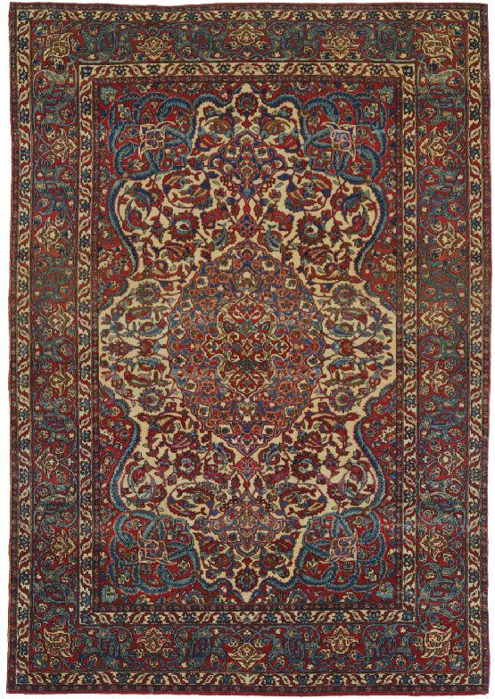 Isfahan tappeti con forza decorativa morandi tappeti - Tappeti persiani antichi ...